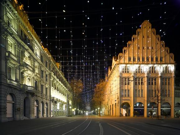 Zürich Weihnachtsbeleuchtung.Weihnachtsbeleuchtung Zürich Marques Architekten Ag